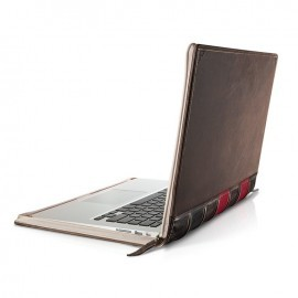 "Twelve South BookBook MacBook Pro13,3"" bruin/rood"
