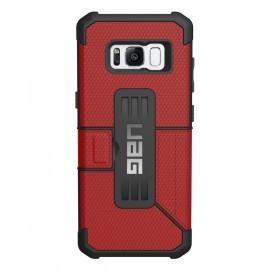 Urban Armor Gear Hard Case Samsung Galaxy S8 Metropolis Rot