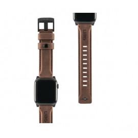 UAG Leder Uhrenarmband 44 / 42 mm braun