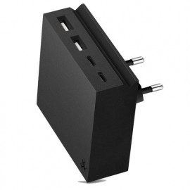 usbepower HIDE Mini+ 27W 4-in-1 wall charger schwarz