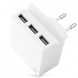 usbepower HIDE Mini 3-in-1 wall-charger weiß