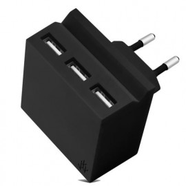 usbepower HIDE Mini 3-in-1 wall charger schwarz