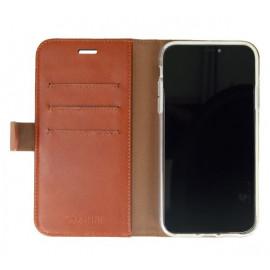 Valenta Booklet Classic Luxe iPhone 11 Braun
