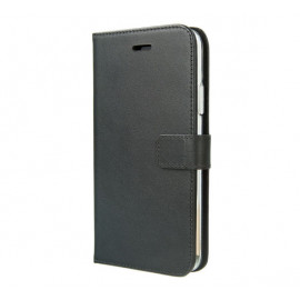 Valenta Booklet Leather Gel Skin iPhone 11 Schwarz