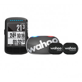 Wahoo Fitness ELEMNT BOLT Stealth & TICKR Stealth, RPM Set
