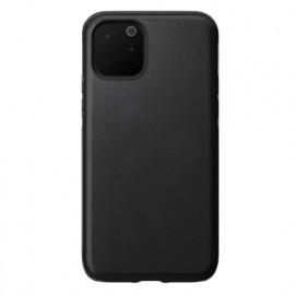 Nomad Rugged Lederhülle iPhone 11 Pro schwarz