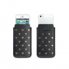 Fab Studs Pouch Case iPhone 5(S)/C/SE schwarz